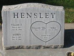 Andrew H Hensley