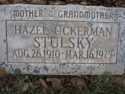 Hazel <I>Uckerman</I> Stulsky