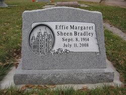 Effie Margaret <I>Sheen</I> Bradley