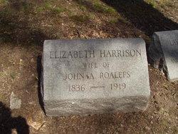 Elizabeth <I>Harrison</I> Roalefs