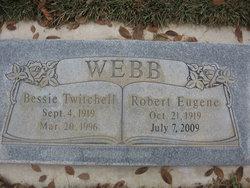 Bessie <I>Twitchell</I> Webb
