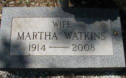 Martha <I>Johns</I> Watkins