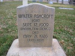 Walter Ashcroft