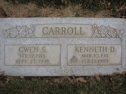 Gwen <I>Steele</I> Carroll