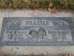 Anna May <I>Grieser</I> Frazier