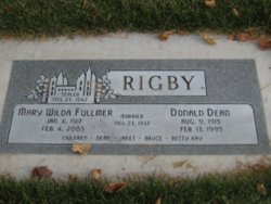 Donald Dean Rigby