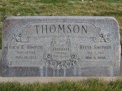 Lucy Elizabeth <I>Johnson</I> Thomson