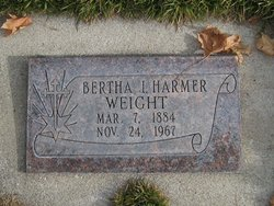 Bertha Irene <I>Harmer</I> Weight