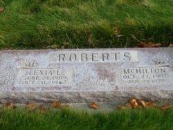 Lexie Erma <I>Johnson</I> Roberts