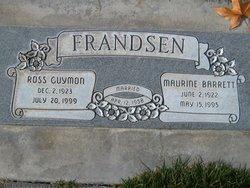 Maurine <I>Barrett</I> Frandsen