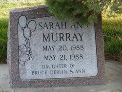 Sarah Ann Murray