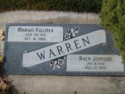 Rhea <I>Johnson</I> Warren
