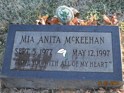 Mia Anita McKeehan