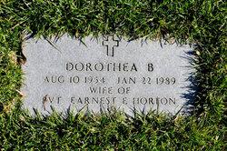 Dorothea B Horton