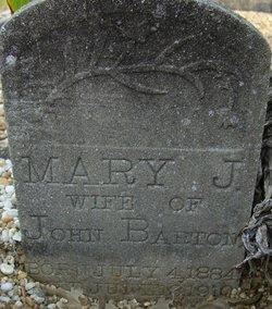 Mary J Barton
