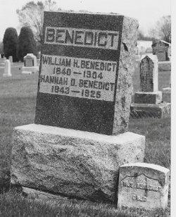 William H Benedict