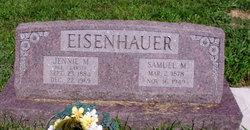 Jennie Matthews <I>Clawser</I> Eisenhauer