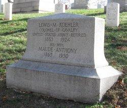 Maude <I>Anthony</I> Koehler