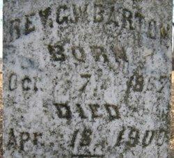 Rev George William Barton