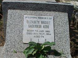 Elizabeth Bridget <I>Sackiokor</I> Addo