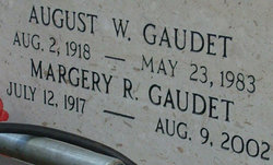 "August Wallace ""Buck"" Gaudet"