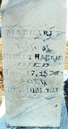 Margaret <I>Sterling</I> Harris