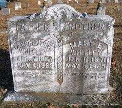 Mary Elizabeth <I>Roden</I> Whitley