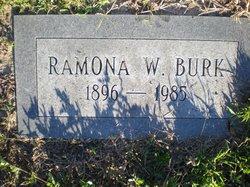 Ramona W Burk