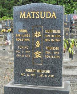 Tokiko <I>Yamamoto</I> Matsuda