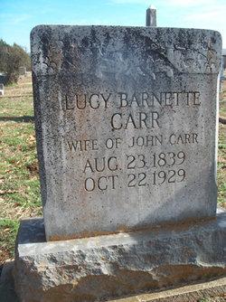 Lucy <I>Barnette</I> Carr