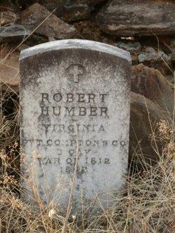 Pvt Robert Christian Humber