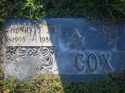 Henry J Cox, Jr