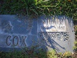 Mary Louise <I>Booker</I> Cox