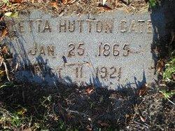 Letta <I>Hutton</I> Gates