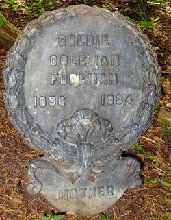 Goldie Coleman Foreman