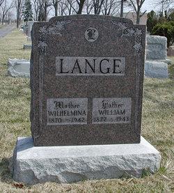 Wilhelmina <I>Kohlhagen</I> Lange