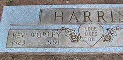 Rev Charles Worley Harris