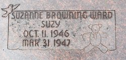 """Suzanne """"Suzy"""" Browning Ward"""