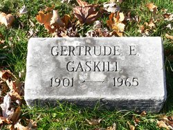 Gertrude E. Gaskill