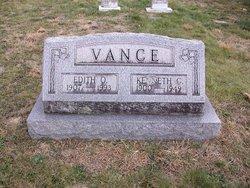 Edith Olive <I>Cooper</I> Vance