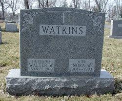 Nora W <I>Nehls</I> Watkins