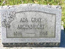 Ada <I>Gray</I> Argenbright