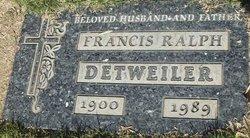Francis Ralph Detweiler