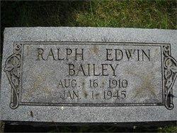 Ralph Edwin Bailey