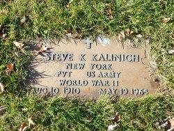 Pvt Steve K. Kalinich