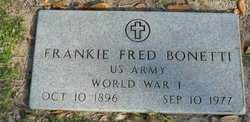 Frankie Fred Bonetti