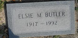 Elsie M Butler