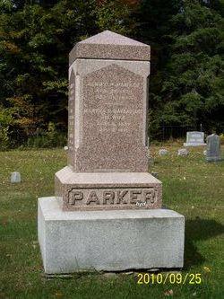 Martha Elizabeth <I>Parker</I> Tuthill