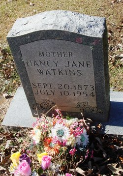 Nancy Jane <I>Shook</I> Watkins