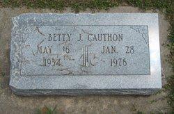 Betty J. Cauthon